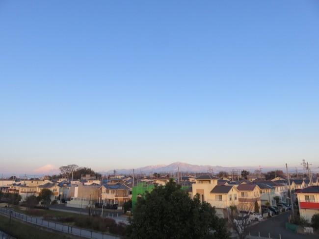 2月7日町の風景